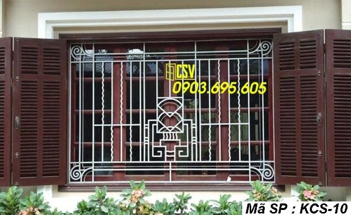 mẫu khung bảo vệ cửa sổ KCS 10