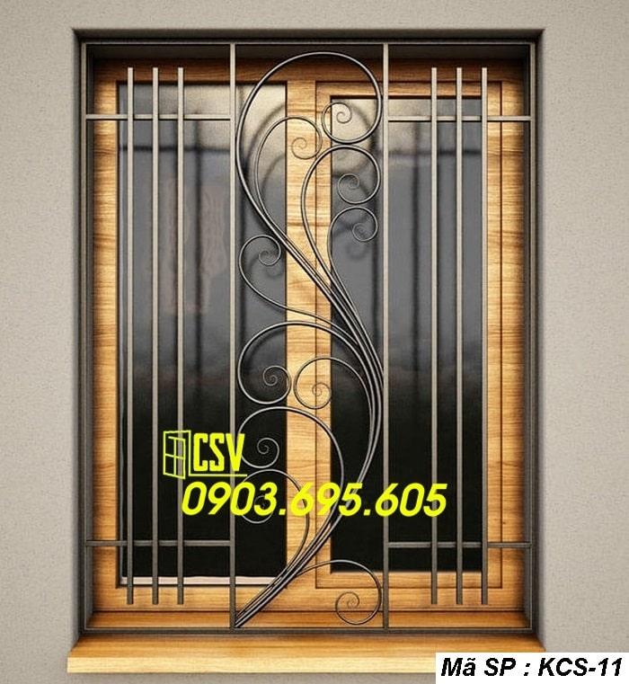 mẫu khung bảo vệ cửa sổ KCS 11