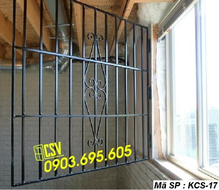 mẫu khung bảo vệ cửa sổ KCS 17