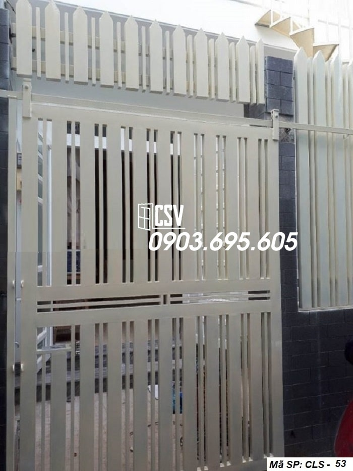 Mẫu cửa sắt lùa CLS 53
