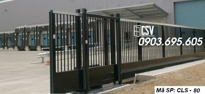 Mẫu cửa sắt lùa CLS 80