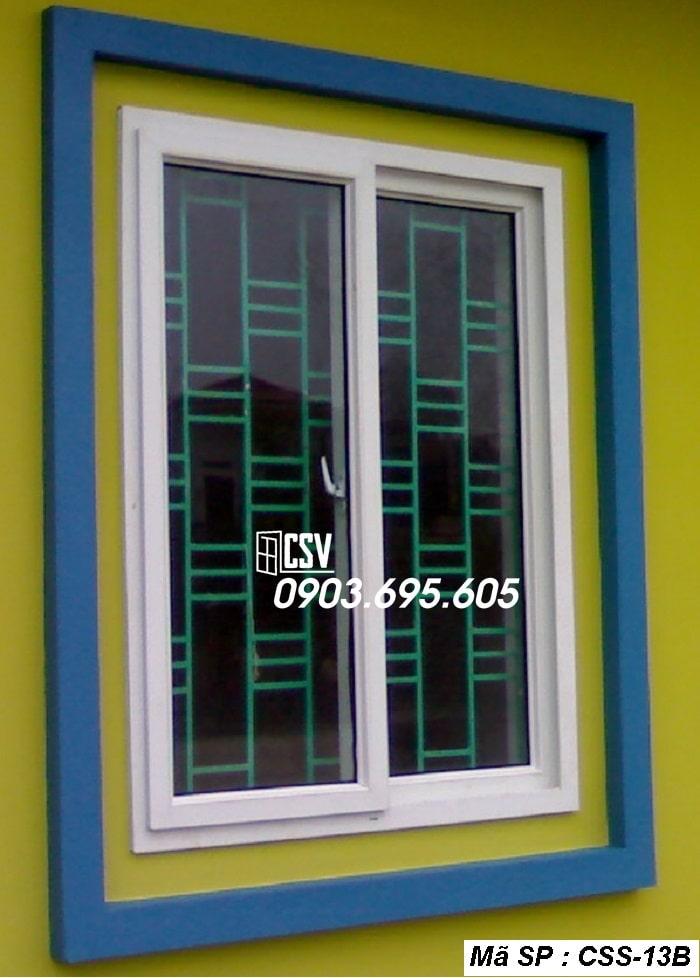 Mẫu cửa sổ sắt CSS - 13B