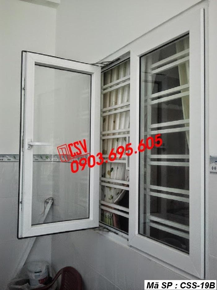 Mẫu cửa sổ sắt CSS - 19B