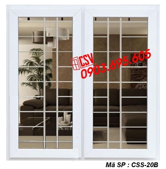 Mẫu cửa sổ sắt CSS - 20B