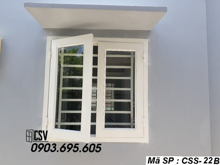 Mẫu cửa sổ sắt CSS - 22B