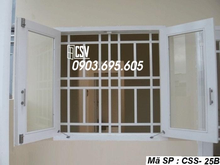 Mẫu cửa sổ sắt CSS - 25B
