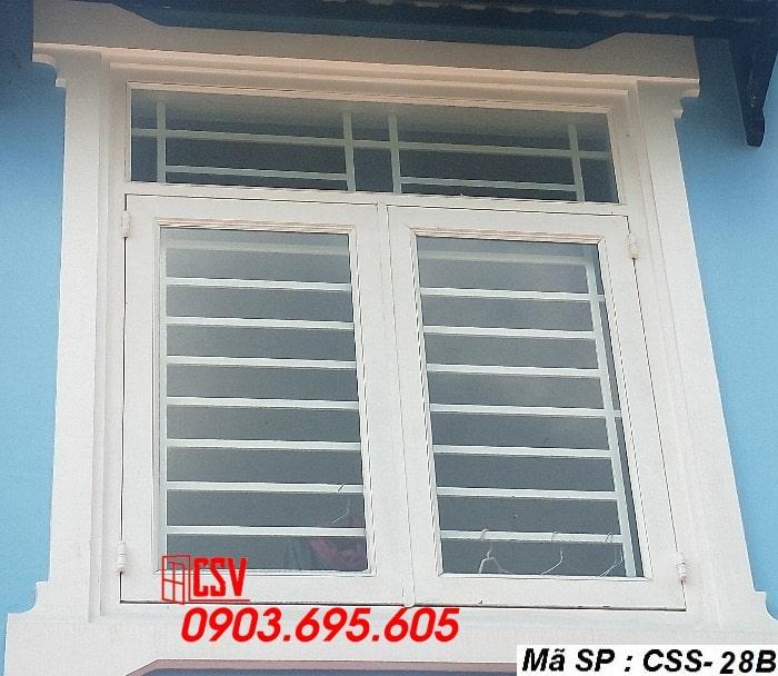 Mẫu cửa sổ sắt CSS - 28B