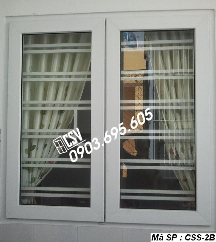 Mẫu cửa sổ sắt CSS - 2B