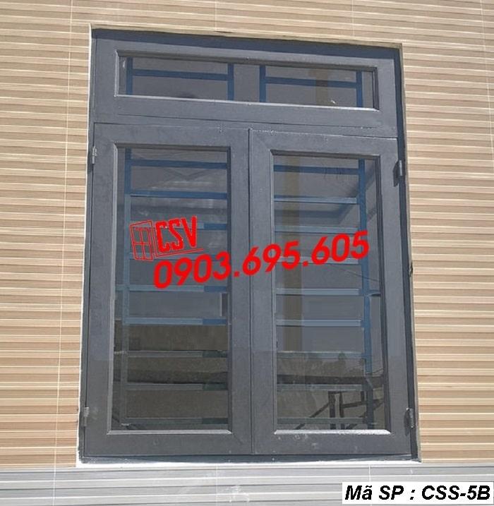 Mẫu cửa sổ sắt CSS - 5B