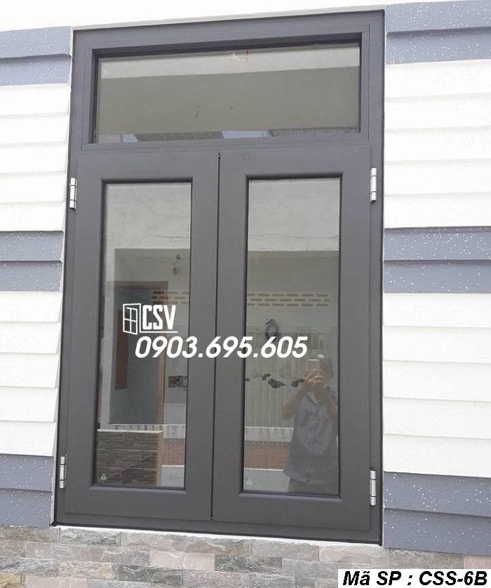 Mẫu cửa sổ sắt CSS - 6B