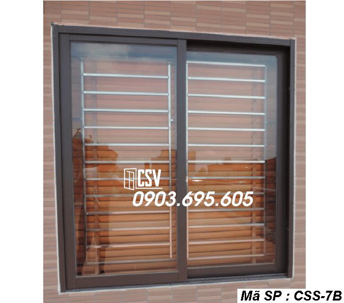 Mẫu cửa sổ sắt CSS - 7B