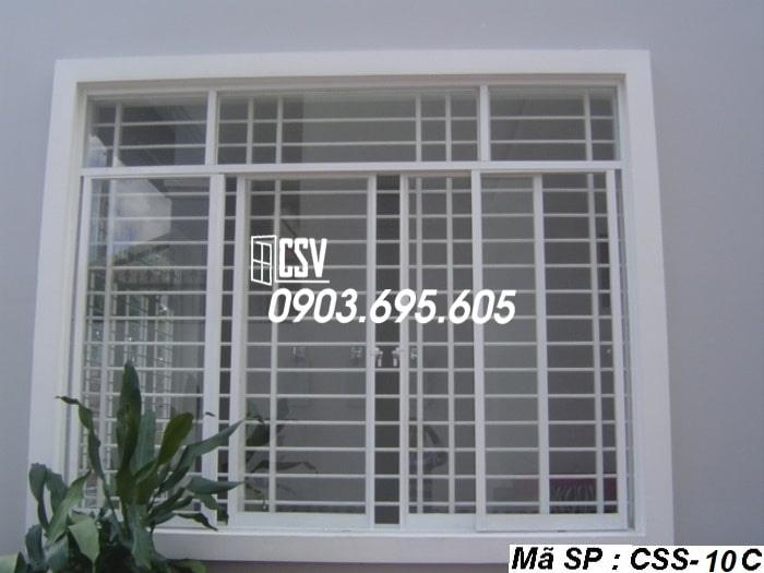 Mẫu cửa sổ sắt CSS - 10C