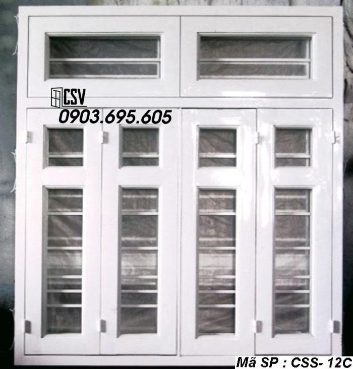 Mẫu cửa sổ sắt CSS - 12C