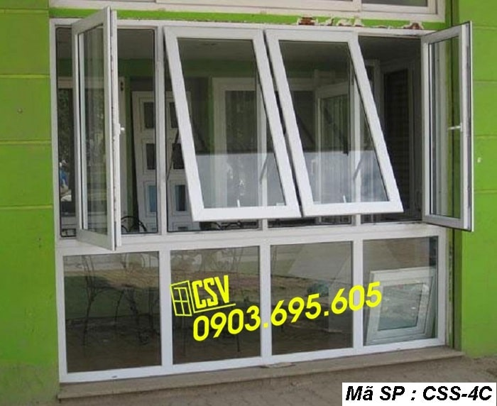 Mẫu cửa sổ sắt CSS - 4C