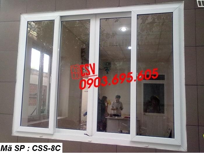 Mẫu cửa sổ sắt CSS - 8C