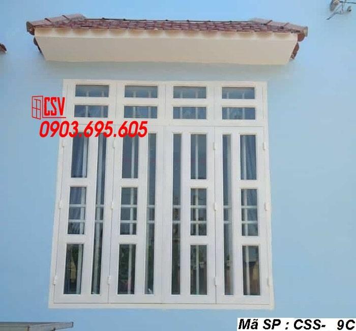 Mẫu cửa sổ sắt CSS - 9C