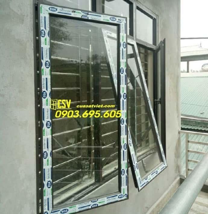Mẫu cửa sổ nhôm kính