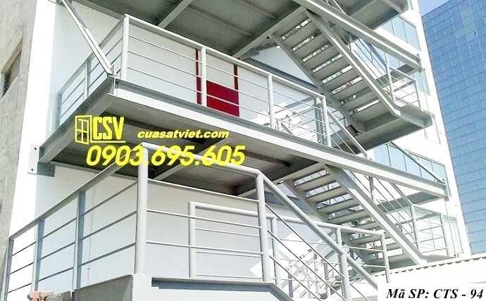 Mẫu cầu thang sắt đẹp CTS 94