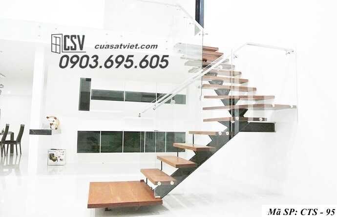 Mẫu cầu thang sắt đẹp CTS 95