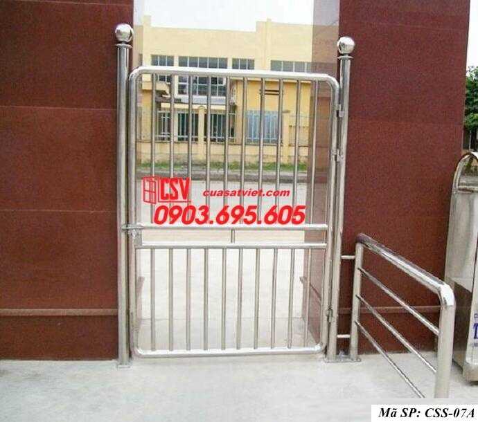 Mẫu cửa cổng sắt đẹp CCS 7A