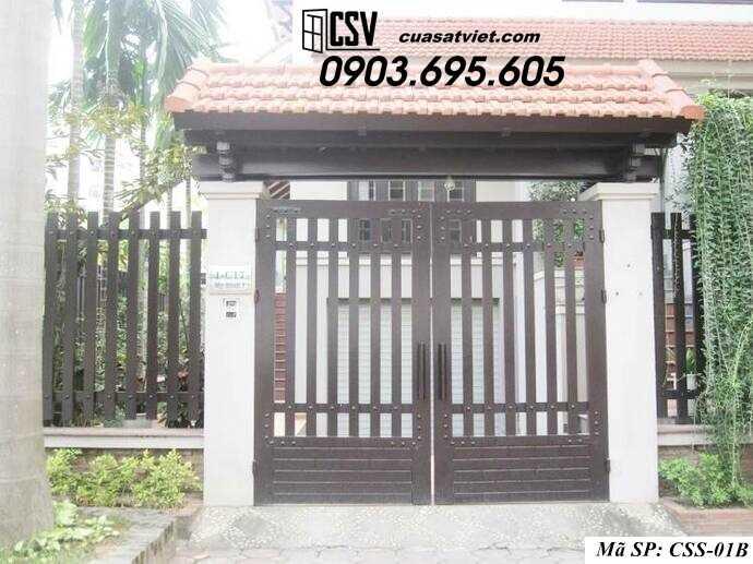 Mẫu cổng nhà đẹp CCS 01b