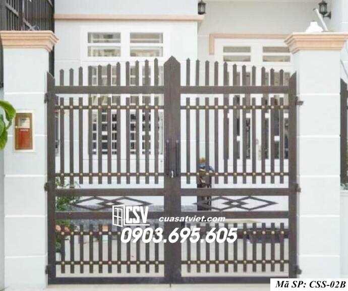 Mẫu cổng nhà đẹp CCS 02b