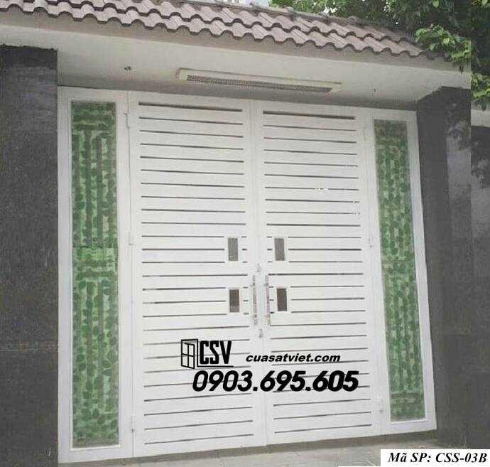 Mẫu cổng nhà đẹp CCS 03b