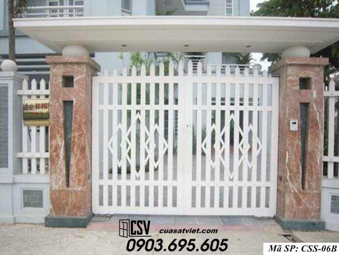 Mẫu cổng nhà đẹp CCS 06b