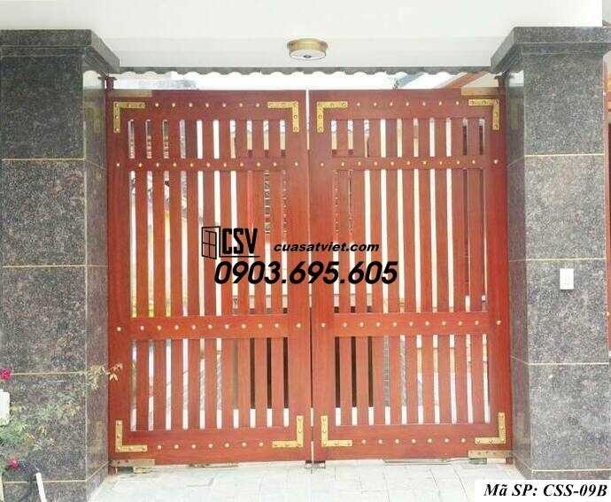 Mẫu cổng nhà đẹp CCS 09b