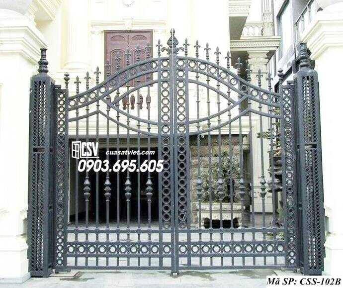 Mẫu cổng nhà đẹp CCS 102b