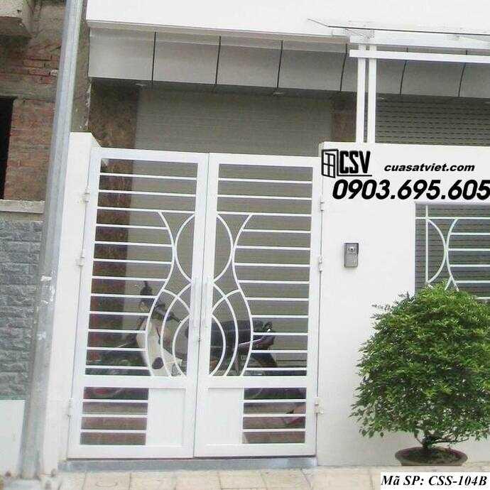 Mẫu cổng nhà đẹp CCS 104b