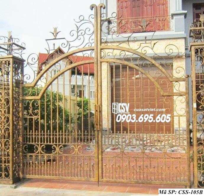 Mẫu cổng nhà đẹp CCS 105b