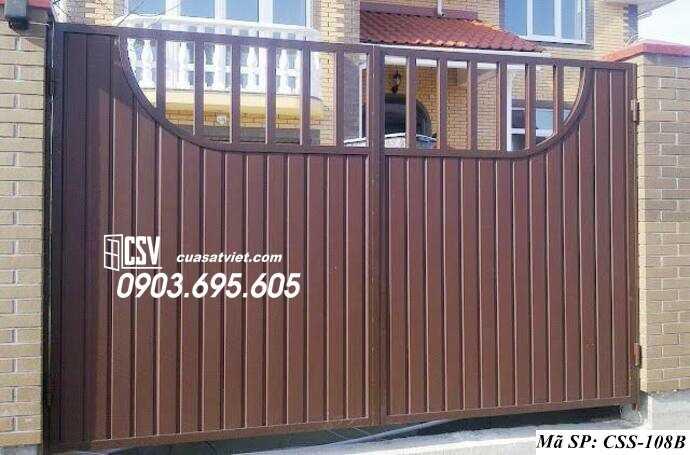 Mẫu cổng nhà đẹp CCS 108b