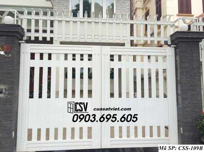Mẫu cổng nhà đẹp CCS 109b