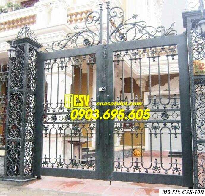 Mẫu cổng nhà đẹp CCS 10b