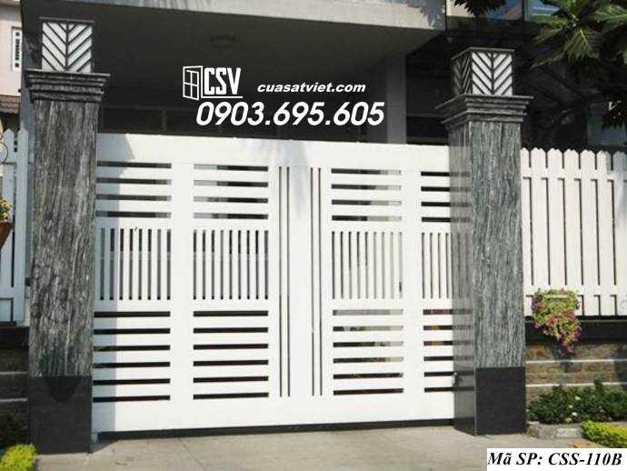 Mẫu cổng nhà đẹp CCS 110b