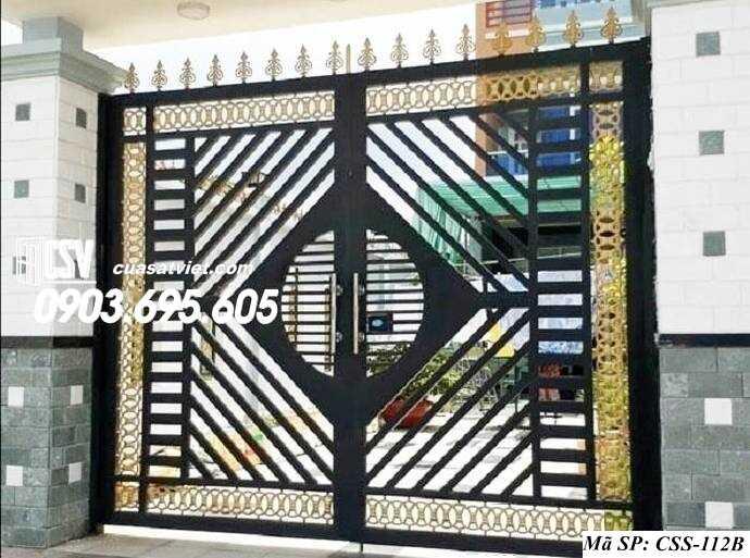 Mẫu cổng nhà đẹp CCS 112b