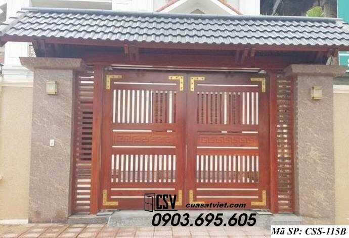 Mẫu cổng nhà đẹp CCS 115b