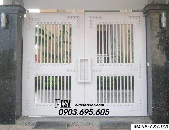Mẫu cổng nhà đẹp CCS 13b