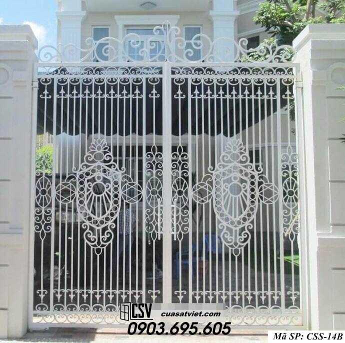 Mẫu cổng nhà đẹp CCS 14b