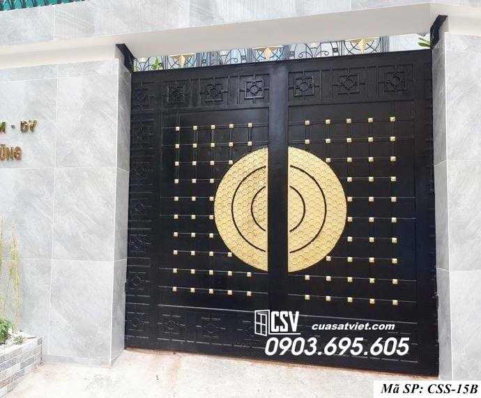 Mẫu cổng nhà đẹp CCS 15b