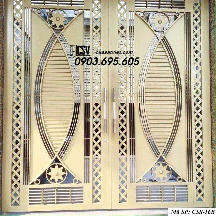 Mẫu cổng nhà đẹp CCS 16b