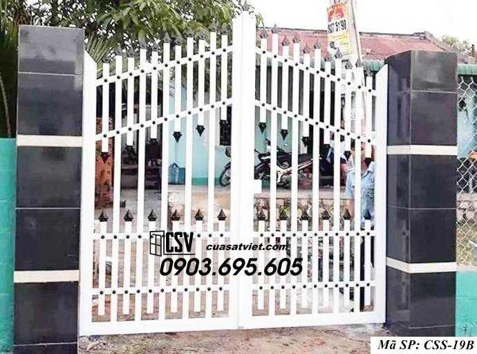 Mẫu cổng nhà đẹp CCS 19b