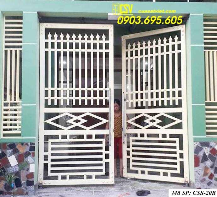 Mẫu cổng nhà đẹp CCS 20b