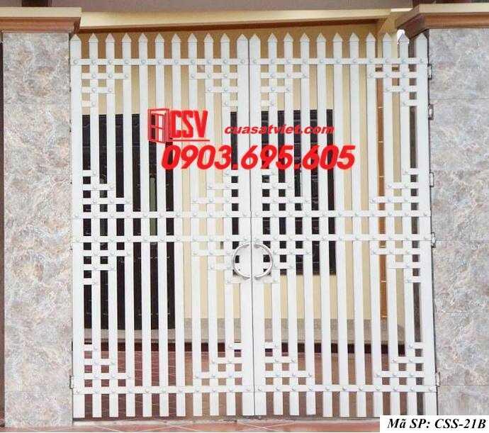 Mẫu cổng nhà đẹp CCS 21b