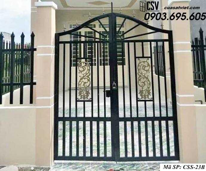 Mẫu cổng nhà đẹp CCS 23b