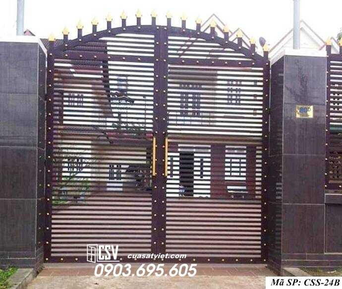 Mẫu cổng nhà đẹp CCS 24b