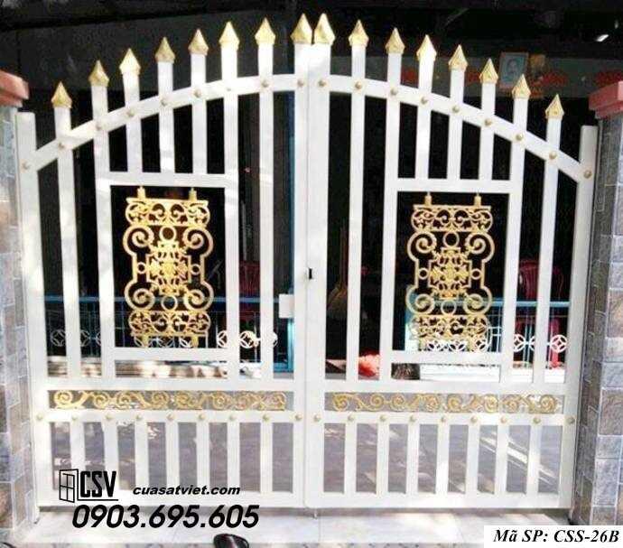 Mẫu cổng nhà đẹp CCS 26b