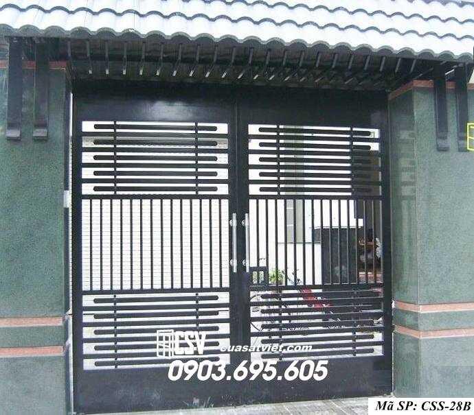 Mẫu cổng nhà đẹp CCS 28b