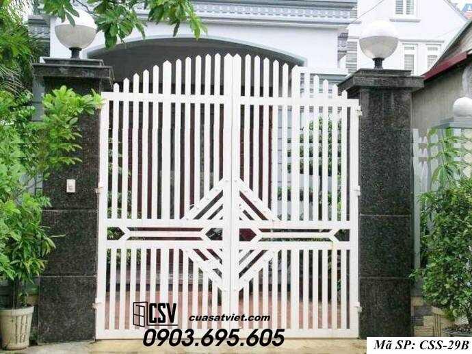 Mẫu cổng nhà đẹp CCS 29b-